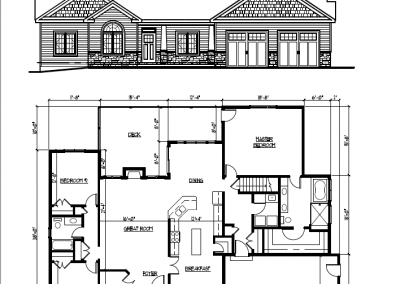 The Gower ll Floor Plans